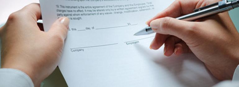 Как правильно составить трудовой договор